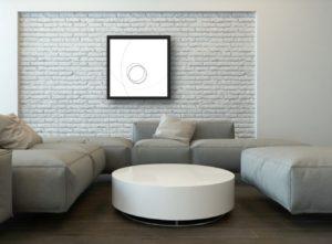 Peinture numérique abstraite